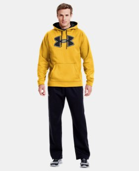 Men's UA Storm Armour® Fleece Big Logo Hoodie LIMITED TIME: FREE U.S. SHIPPING 1 Color $40.99