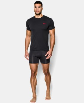 Men's UA HeatGear® Flyweight Crew Undershirt  3 Colors $18.99 to $25