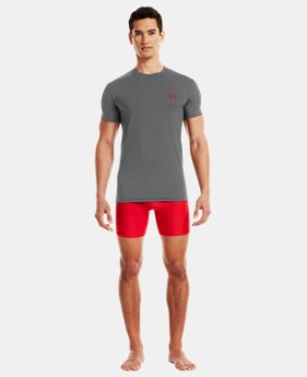 Men's UA HeatGear® Flyweight Crew Undershirt  1 Color $18.99 to $25