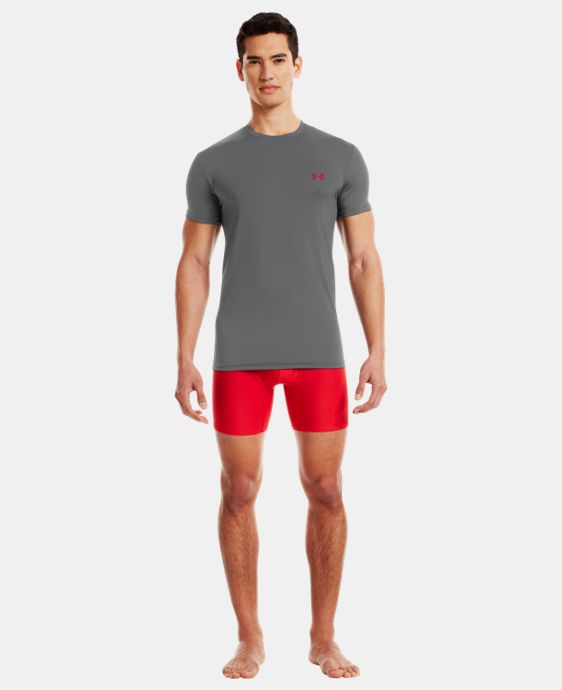 Men's UA HeatGear® Flyweight Crew Undershirt LIMITED TIME: FREE U.S. SHIPPING  $14.24 to $18.99