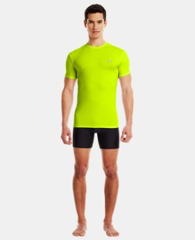 Men's UA HeatGear® Flyweight Crew Undershirt