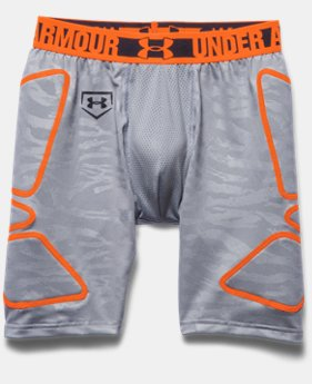 Boys' UA Break Through Printed Slider