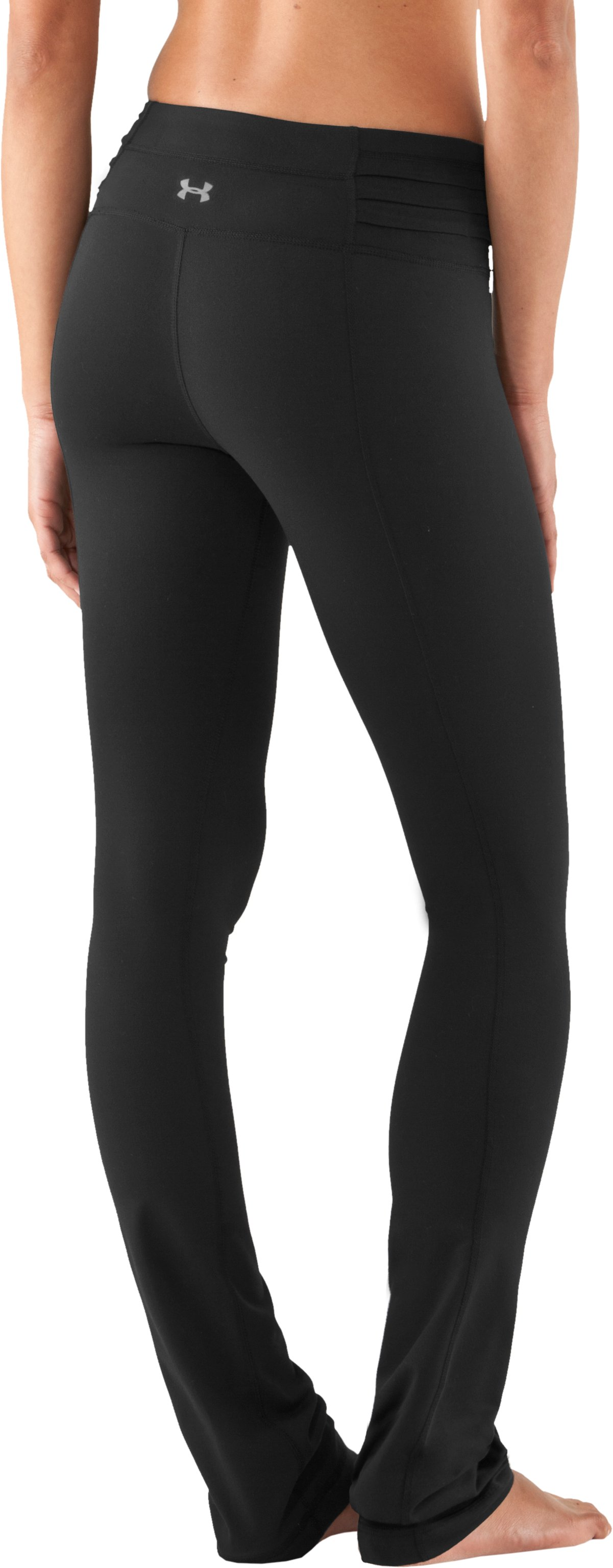 "Women's UA StudioLux® Quattro Straight Leg 32"" Pants, Black"