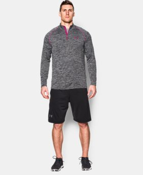 Men's UA Tech™ ¼ Zip LIMITED TIME OFFER + FREE U.S. SHIPPING 1 Color $29.99