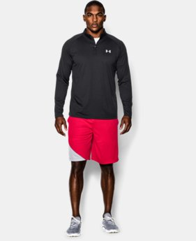 Best Seller Men's UA Tech™ ¼ Zip  4 Colors $39.99