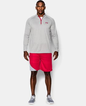 Best Seller  Men's UA Tech™ ¼ Zip LIMITED TIME: FREE SHIPPING 4 Colors $29.99 to $44.99