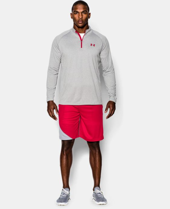 Best Seller  Men's UA Tech™ ¼ Zip LIMITED TIME: FREE SHIPPING 2 Colors $29.99 to $44.99