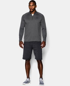 Best Seller  Men's UA Tech™ ¼ Zip  4 Colors $44.99