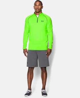 Men's UA Tech™ ¼ Zip LIMITED TIME: FREE U.S. SHIPPING 1 Color $29.99
