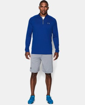 Best Seller  Men's UA Tech™ ¼ Zip  1  Color $44.99