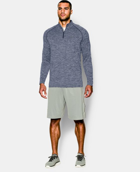 Men's UA Tech™ ¼ Zip  2 Colors $44.99