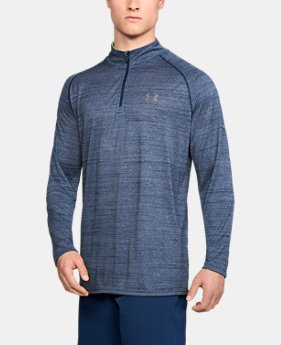 Best Seller Men's UA Tech™ ¼ Zip  2  Colors Available $29.99