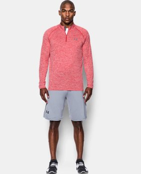 Men's UA Tech™ ¼ Zip EXTENDED SIZES 2 Colors $29.99