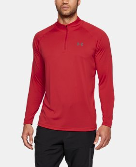 Best Seller Men's UA Tech™ ¼ Zip  4 Colors $29.99 to $39.99