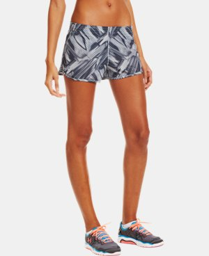 Women's UA Fly-By Printed Knit Short LIMITED TIME: FREE U.S. SHIPPING 1 Color $19.99