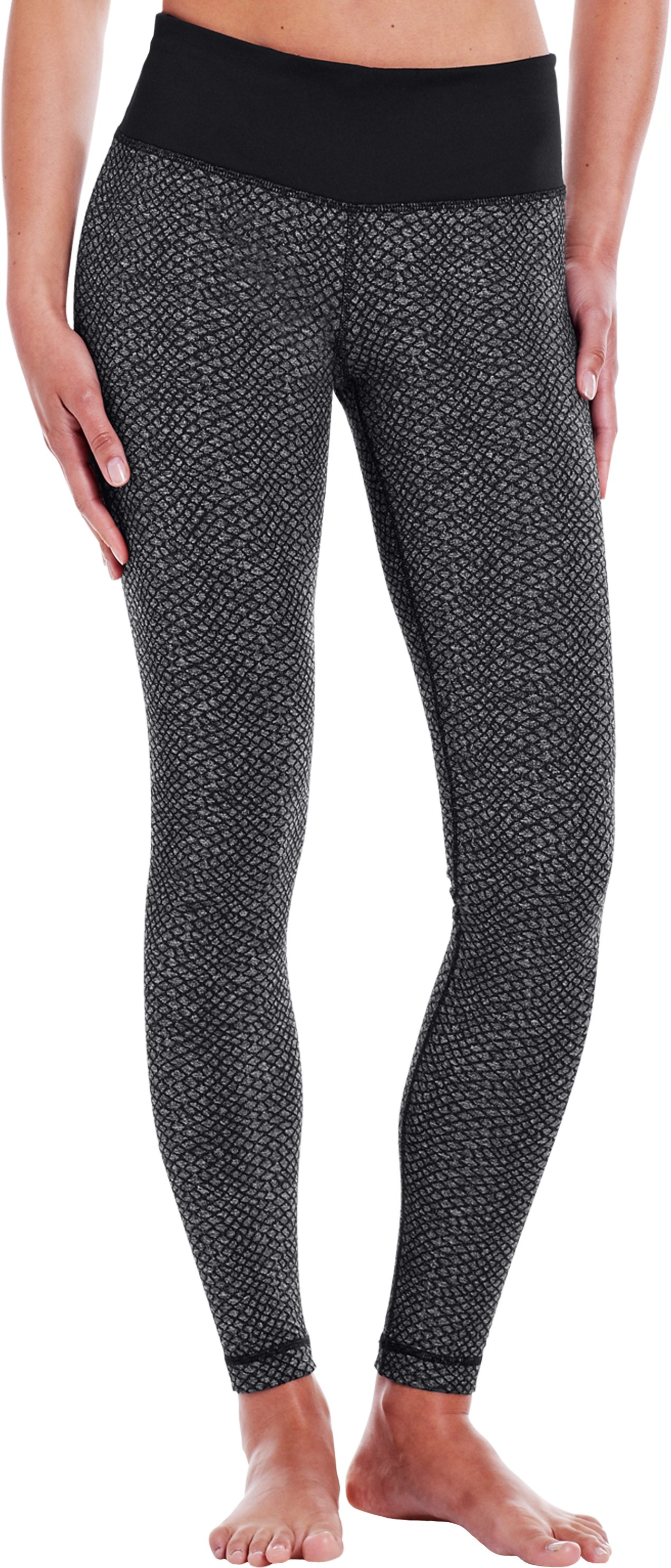 Women's UA StudioLux® Snakey Legging, Asphalt Heather