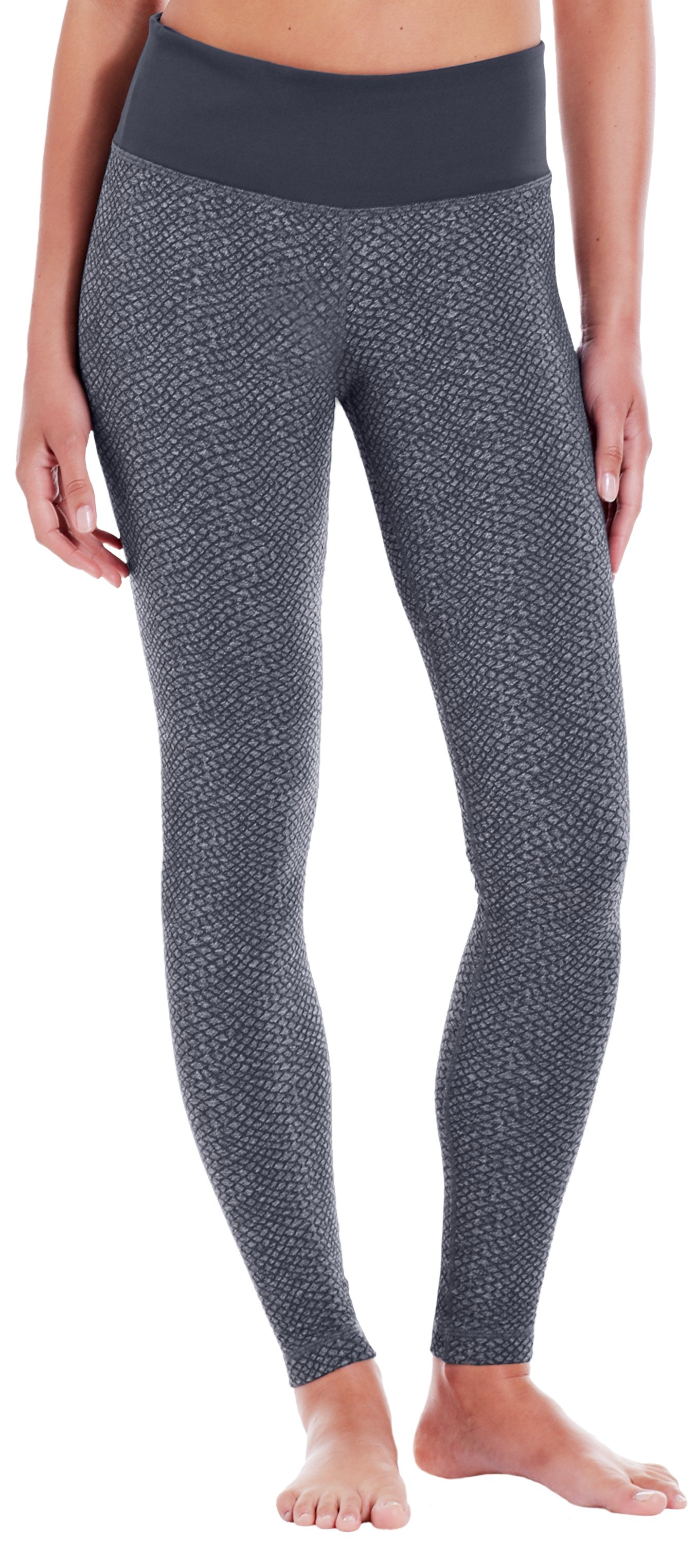 Women's UA StudioLux® Snakey Legging, Carbon Heather