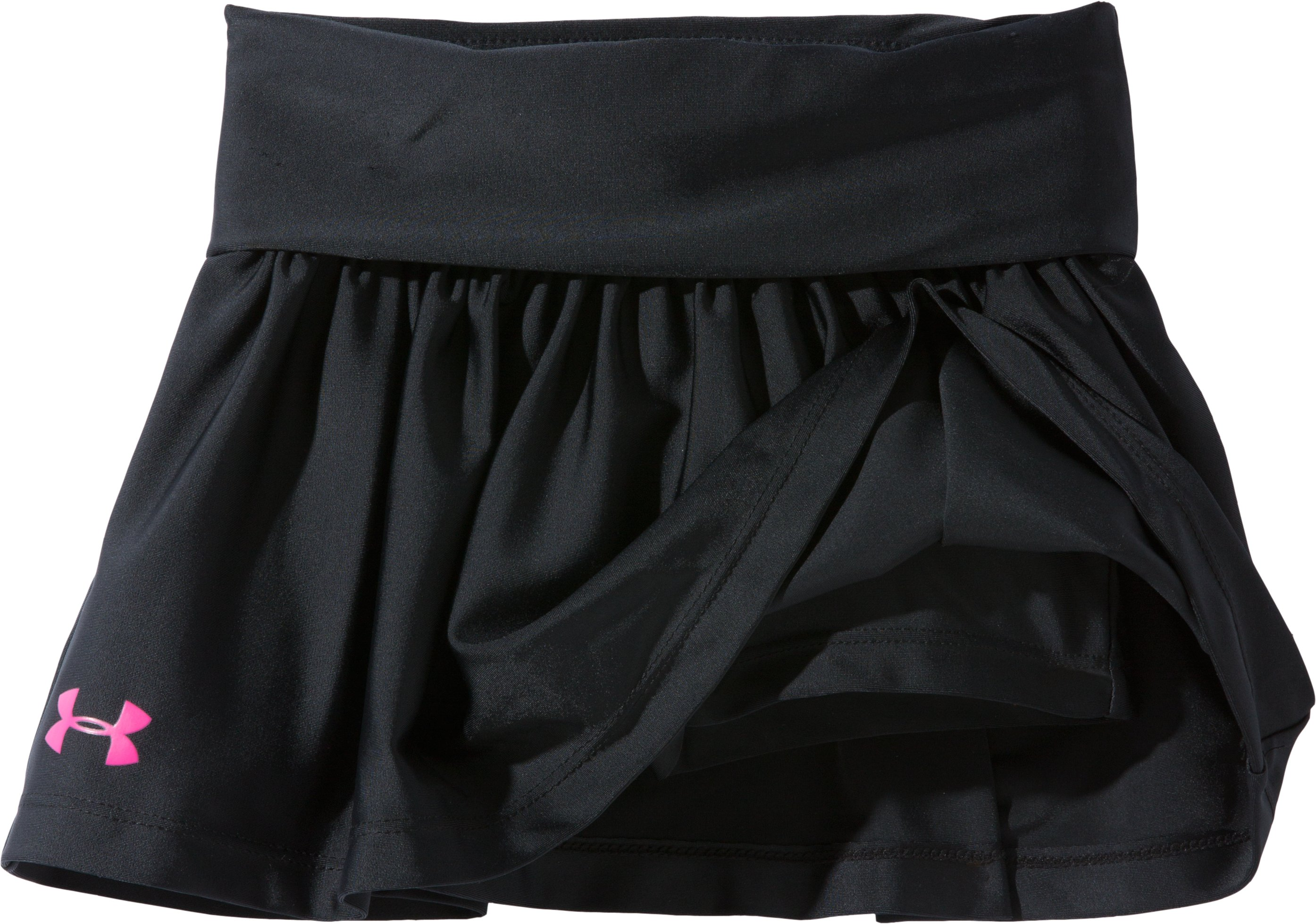 Girls' Pre-School UA Playful Skort, Black