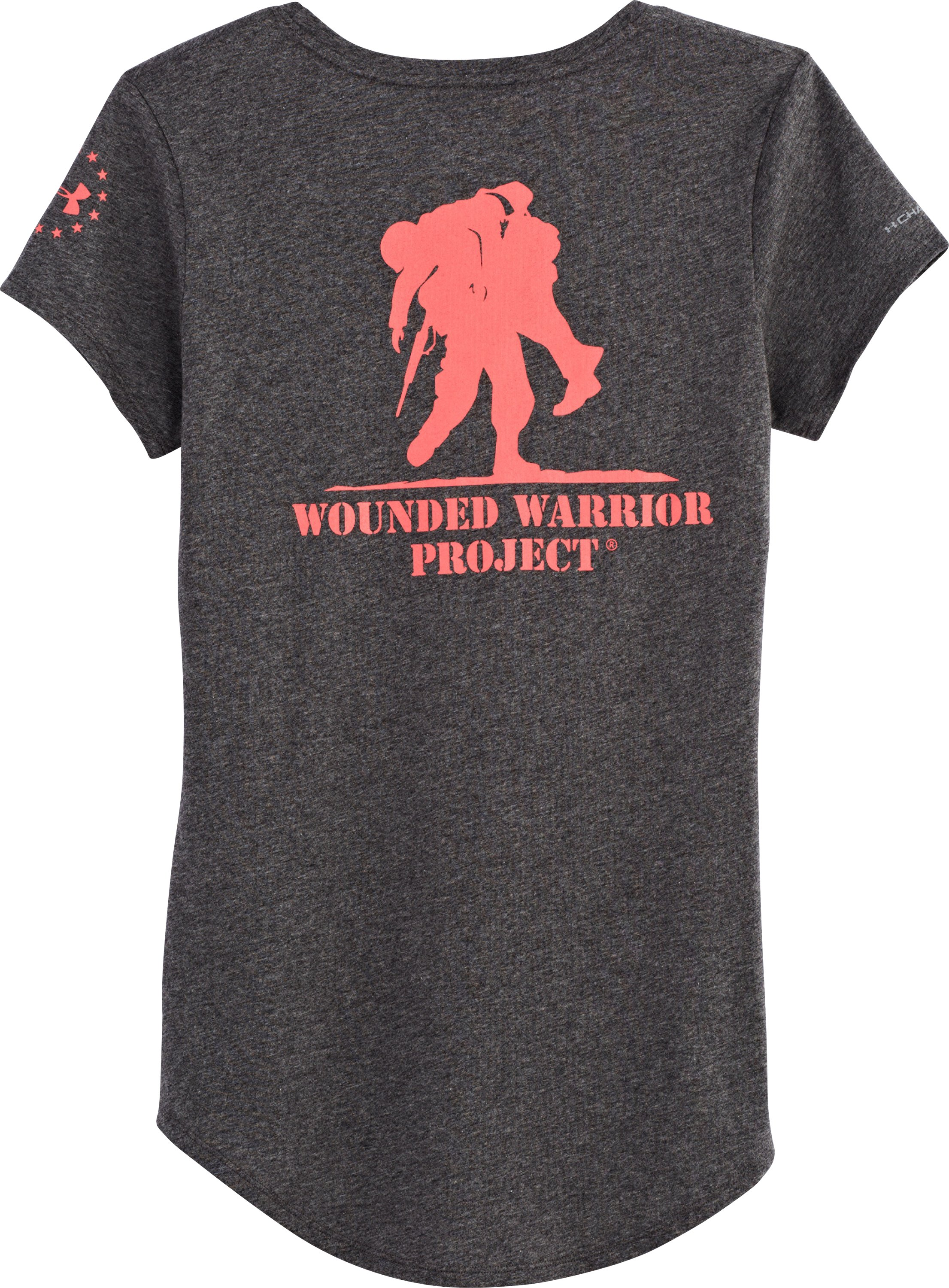 Women's Wounded Warrior Project Short Sleeve, Carbon Heather