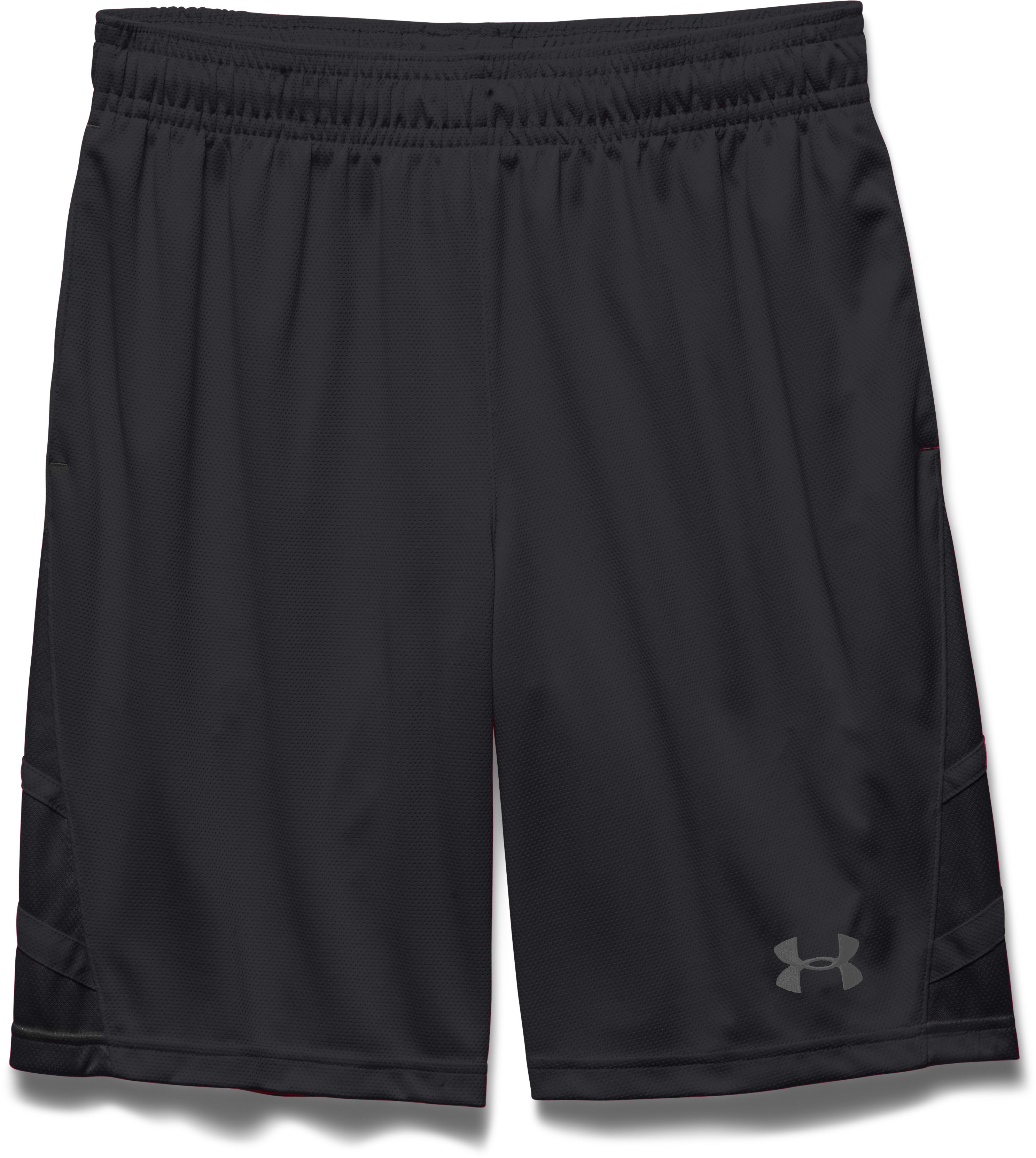 Men's UA Big Timin Shorts, Black , Laydown