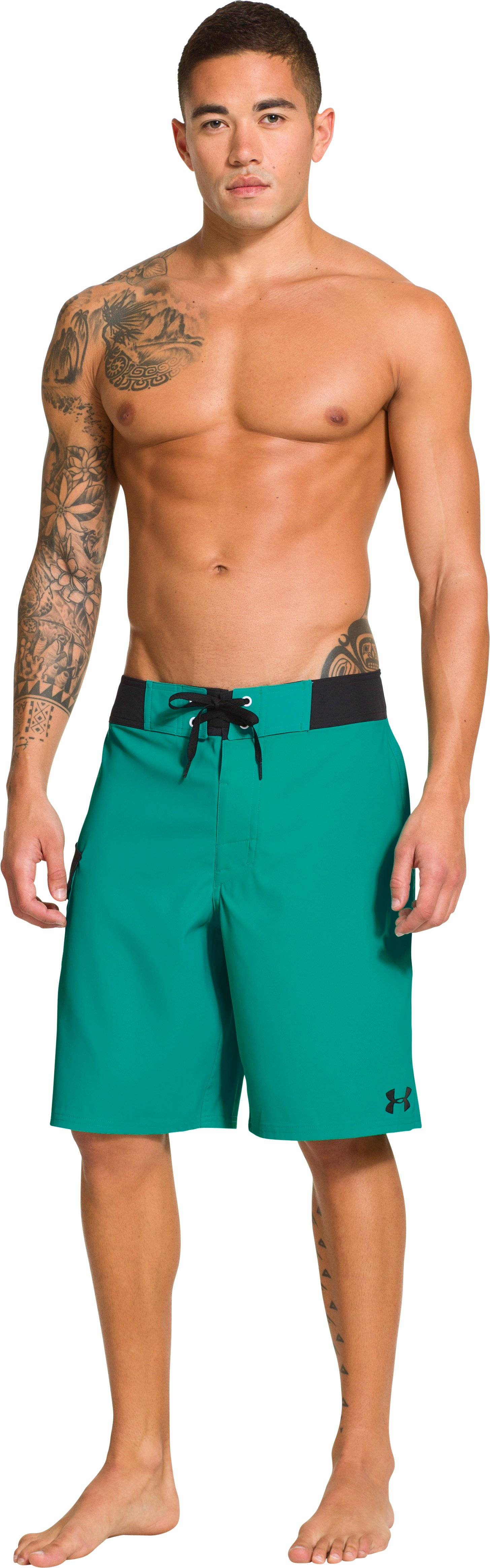 Men's UA Seagrit Boardshorts, Jade River