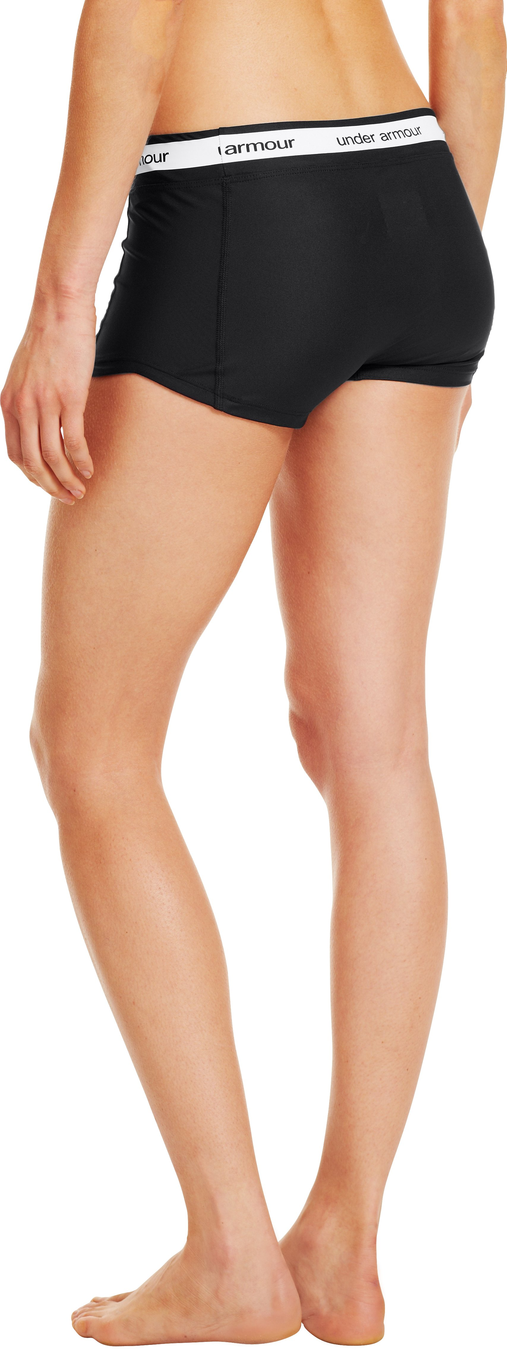 Women's UA Middy Compression Shorty, Black
