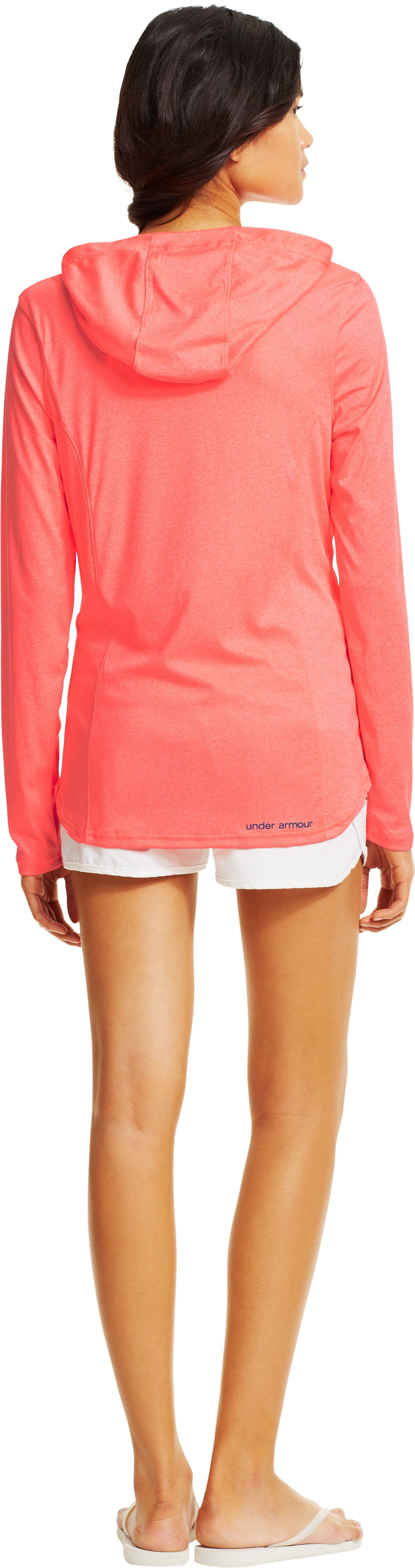 Women's UA Secretsee Hoodie, BRILLIANCE, Back