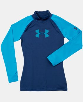 Boys' UA LoTide Long Sleeve Rashguard