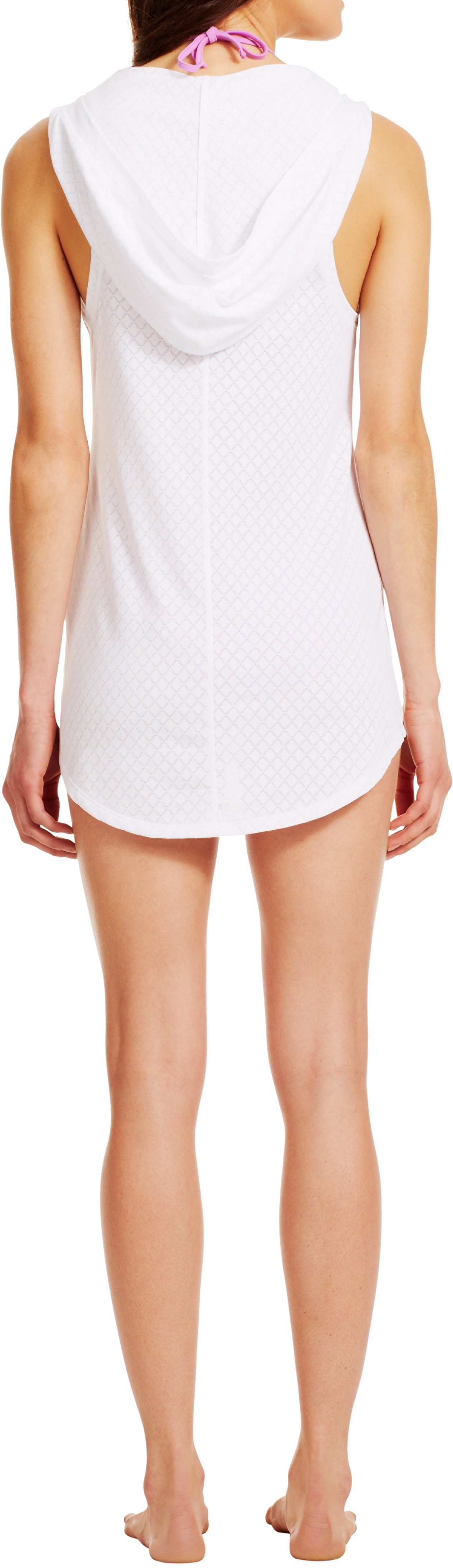 Women's UA Elux Cover-Up, White, Back