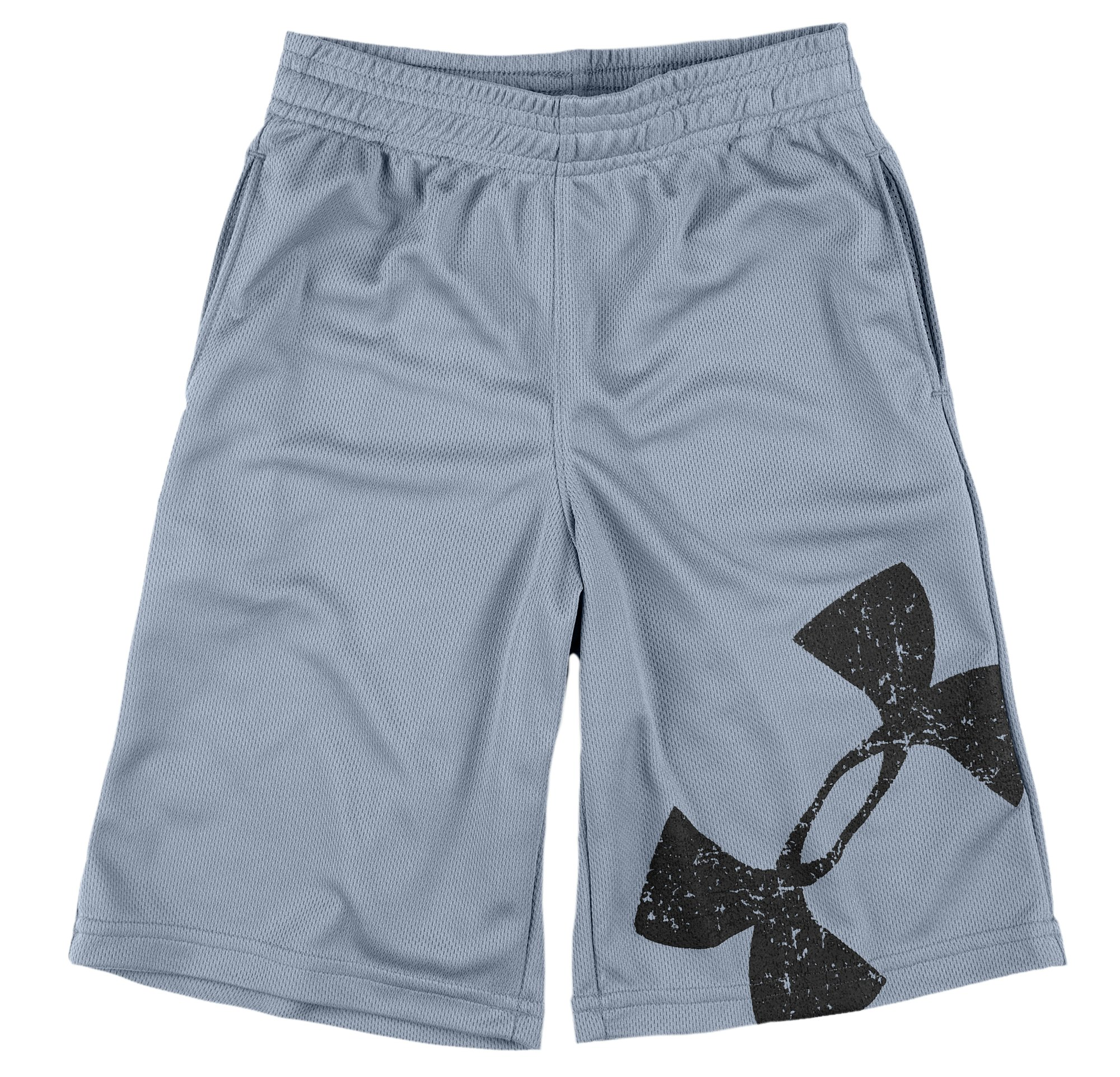 Boys' Infant UA Power Up Shorts, Graphite, Laydown
