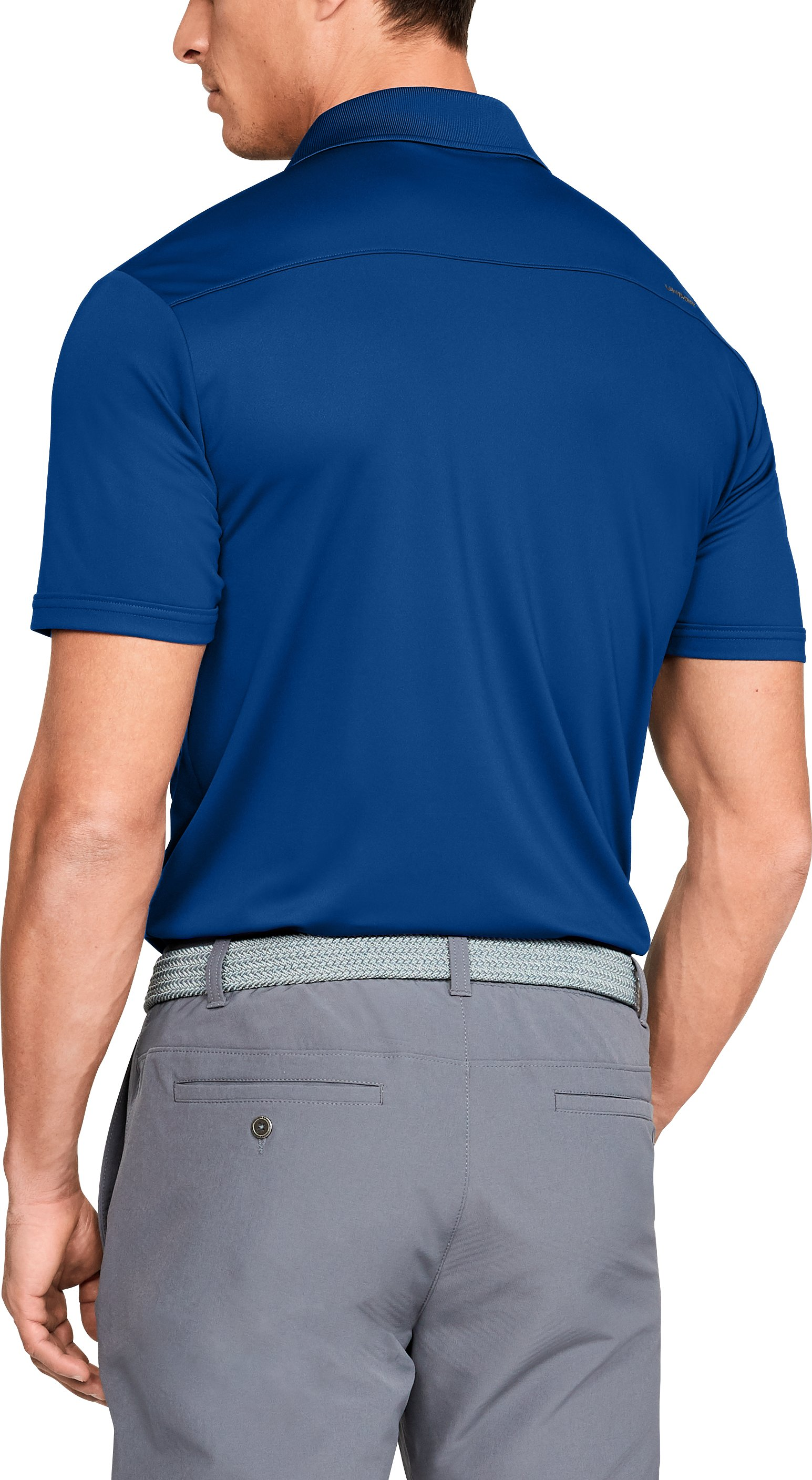 Men's UA Performance Polo, Royal,