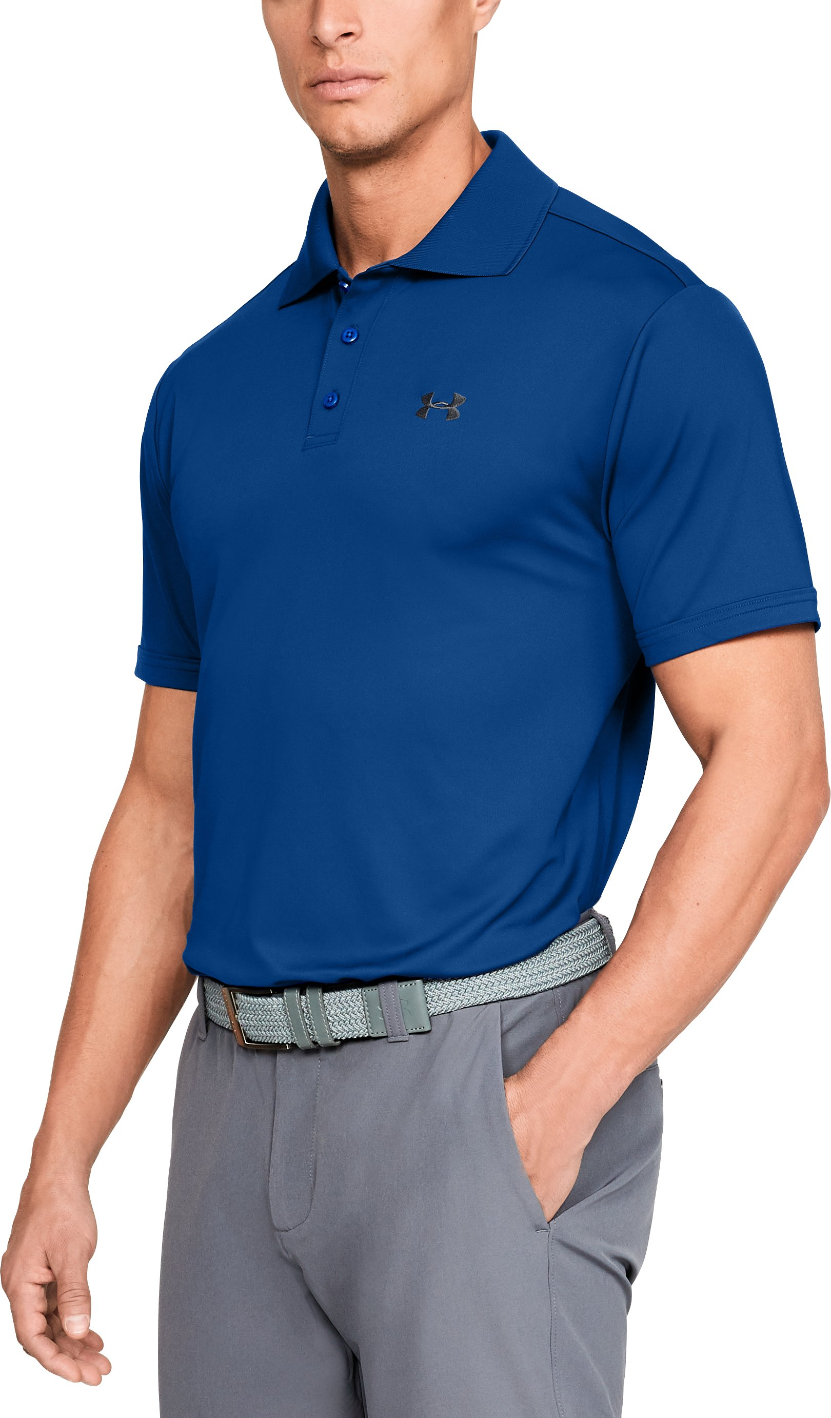 Men's UA Performance Polo, Royal