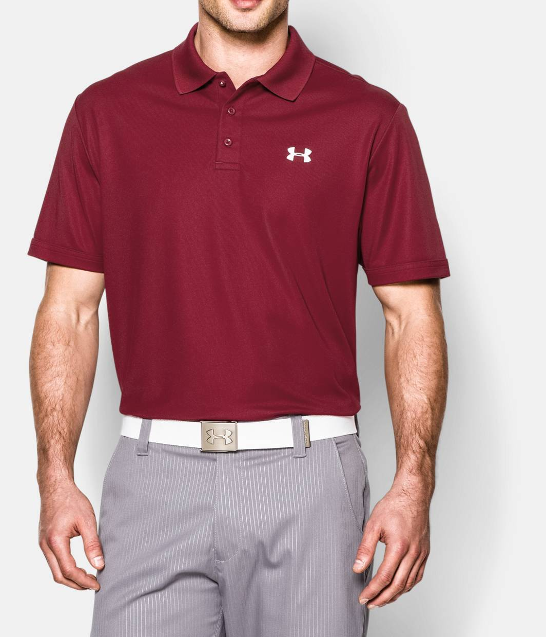 Men s ua performance polo under armour us for Under armour swim shirt youth