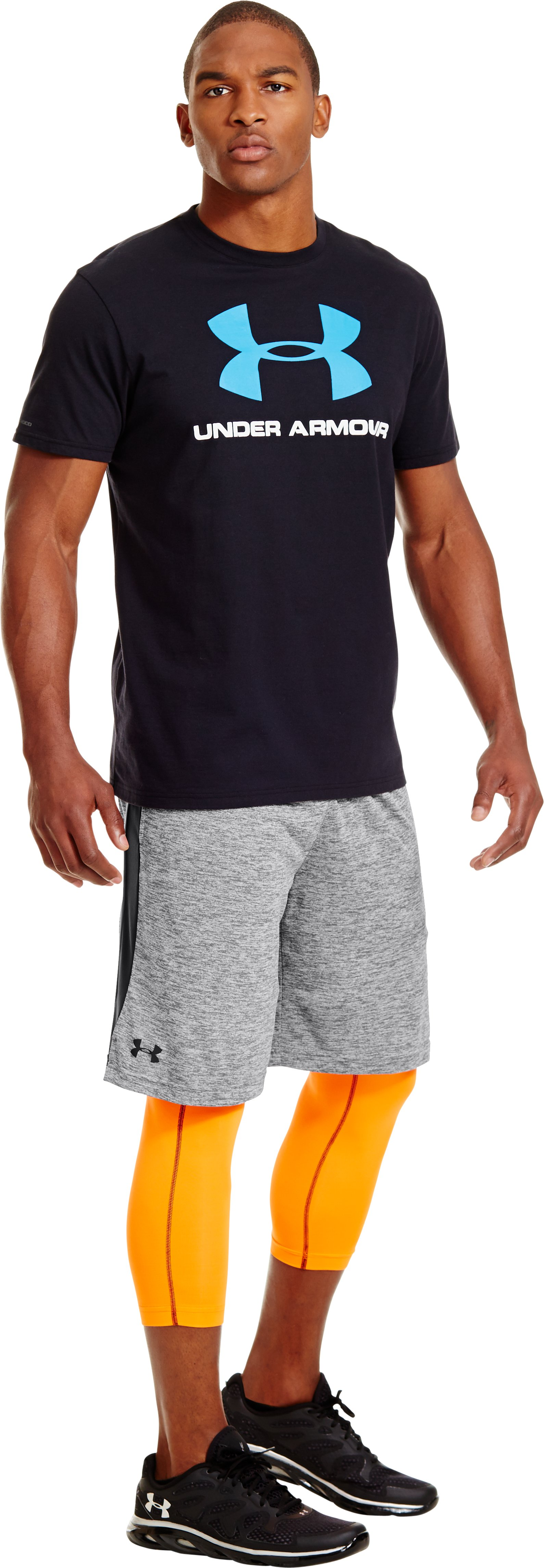 Men's UA Tech™ Shorts, Graphite, zoomed image