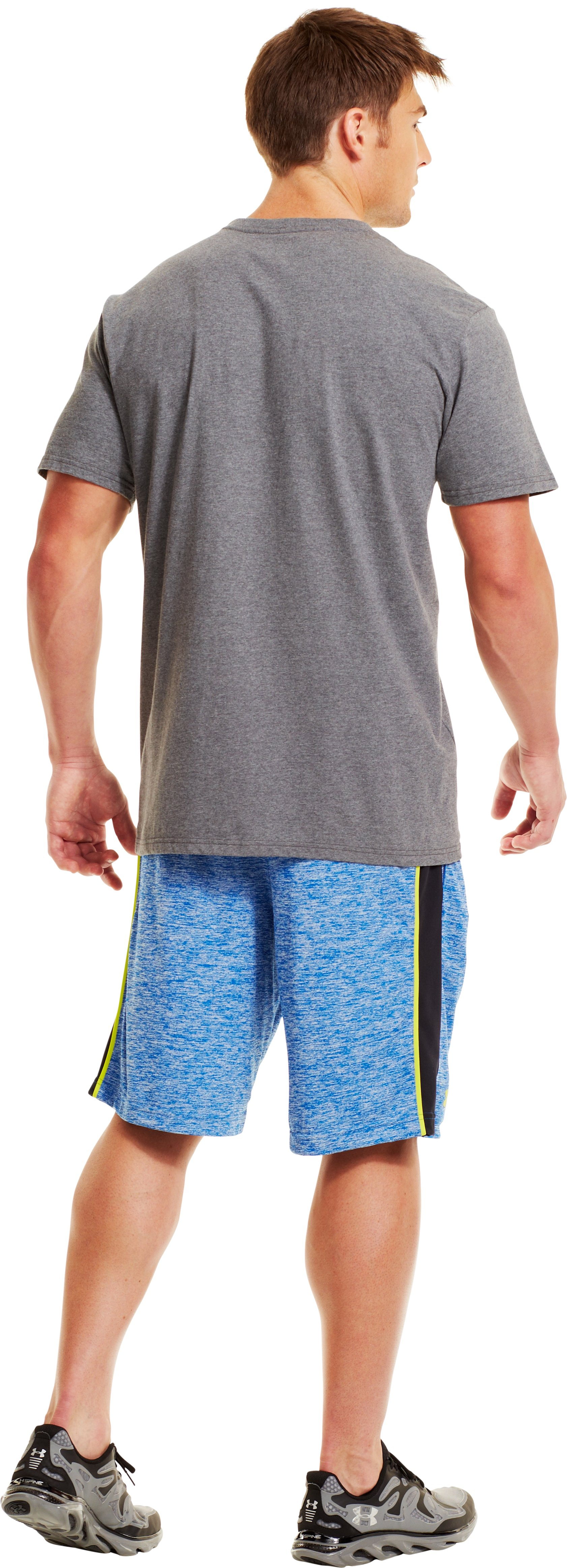 Men's UA Tech™ Shorts, SUPERIOR BLUE, Back