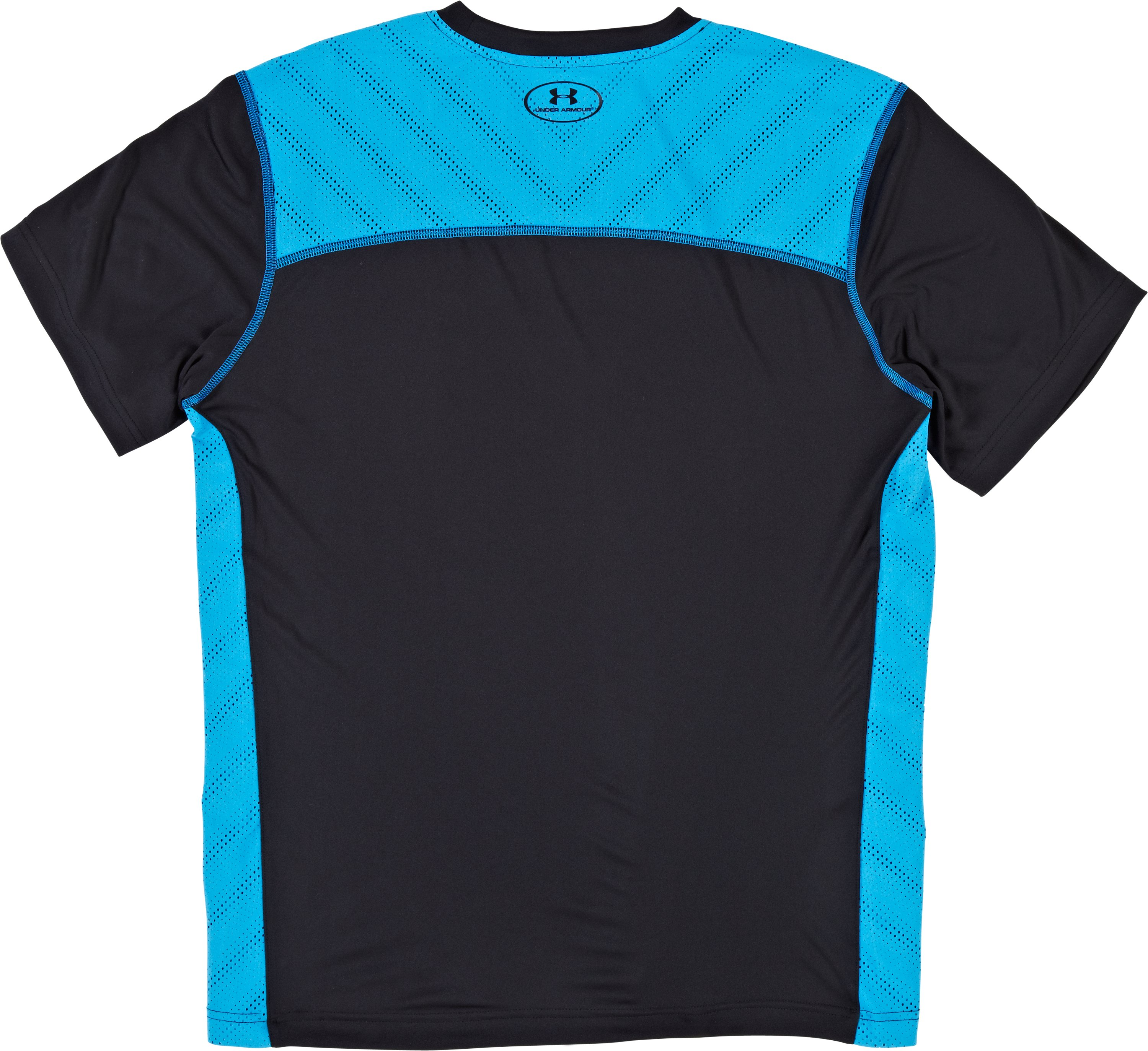 Men's HeatGear® ArmourVent™ Training T-Shirt, Black