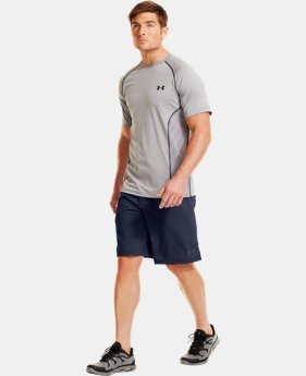 Men's UA HeatGear® ArmourVent™ Shorts LIMITED TIME: FREE U.S. SHIPPING 1 Color $26.99