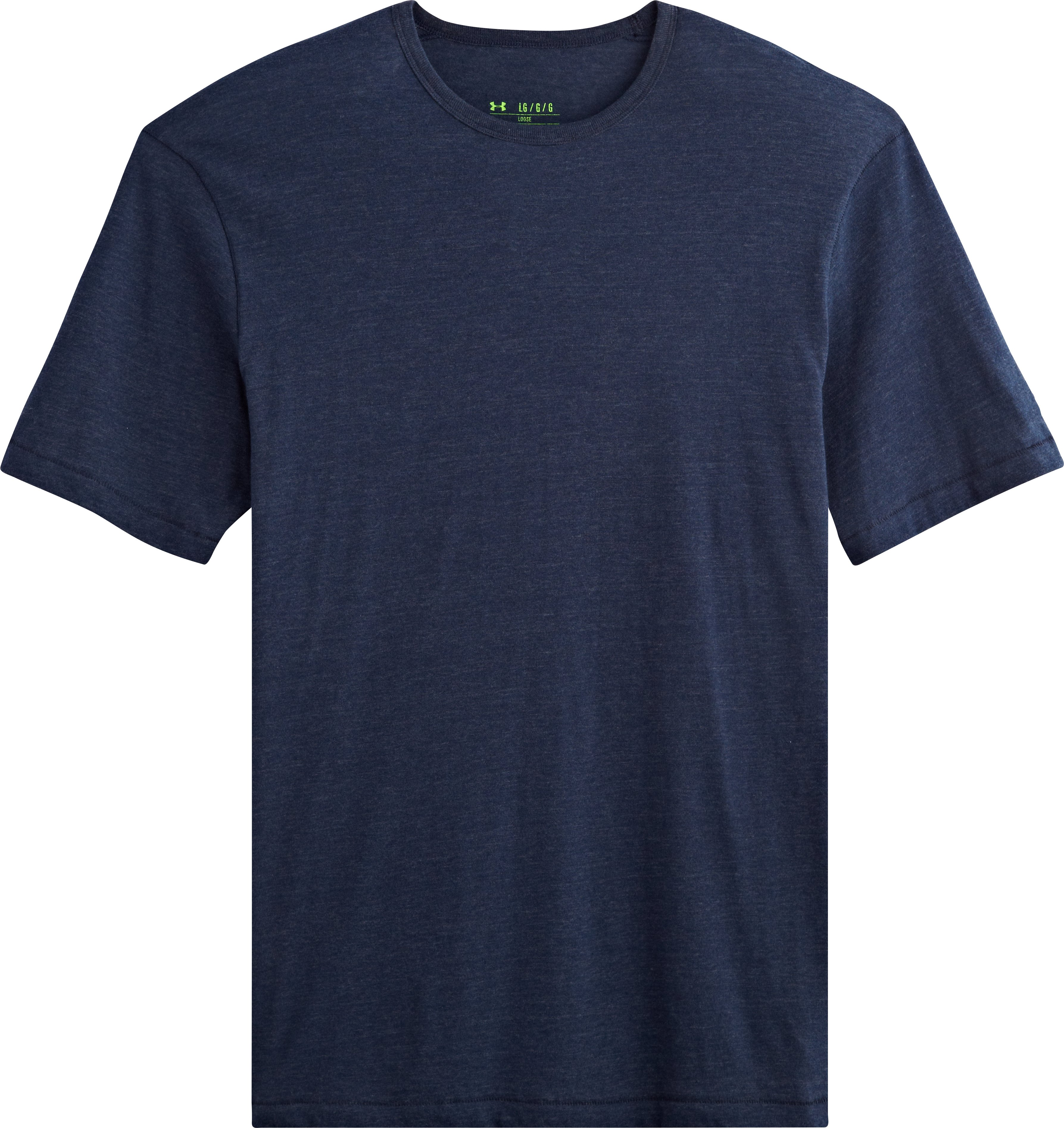Men's Charged Cotton® Tri-Blend T-Shirt, Academy, Laydown