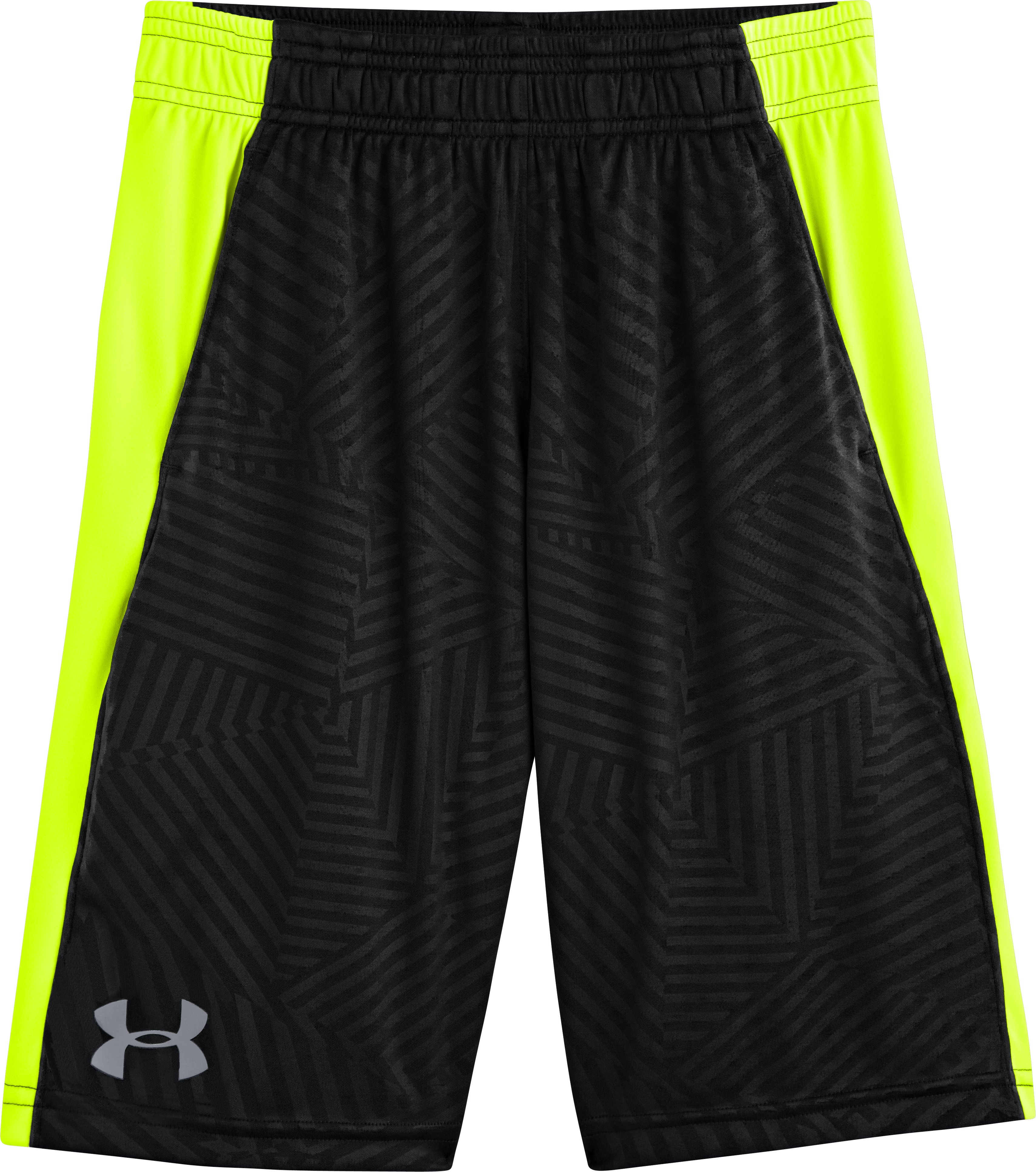 Boys' UA Tech™ Shorts, Black , Laydown