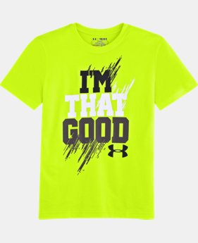 Boys' UA I'm That Good T-Shirt