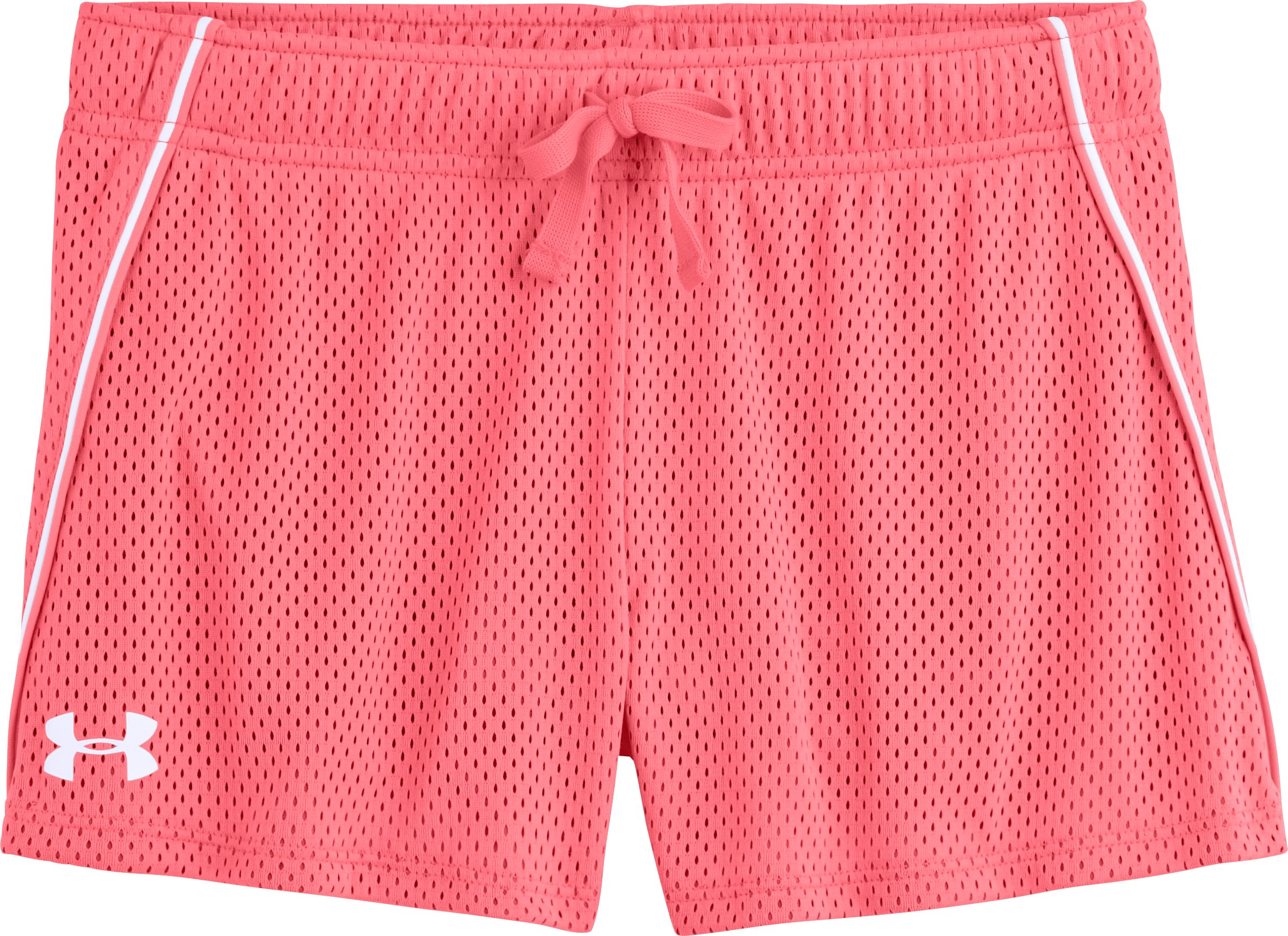 Girls' UA Front Runner Shorts, BRILLIANCE, Laydown
