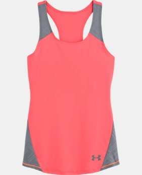 Girls' UA Perfect 10 Fitted Tank
