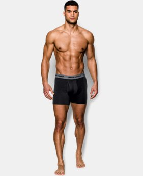 "Best Seller Men's Charged Cotton® Stretch 6"" Boxerjock® 3-Pack  1 Color $40"
