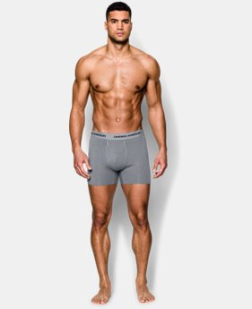 "Men's Charged Cotton® Stretch 6"" Boxerjock® 3-Pack  2 Colors $33.99"