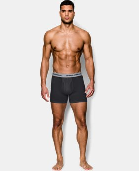 "Men's Charged Cotton® Stretch 6"" Boxerjock® 3-Pack   $29.99"