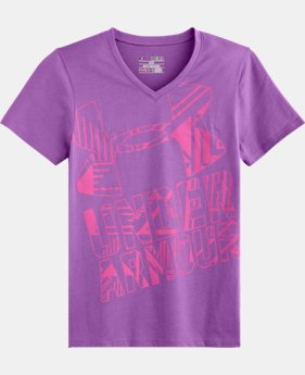Girls' UA V-Neck