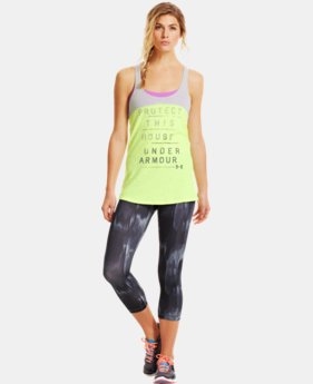 Women's Charged Cotton® Word mark Tri-Blend Tank
