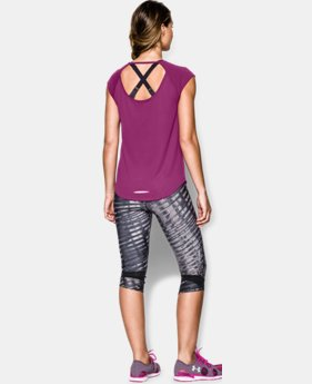 Women's UA Fly-By Short Sleeve