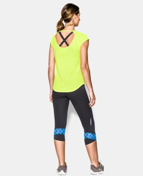 Women's UA Fly-By Short Sleeve  1 Color $20.99
