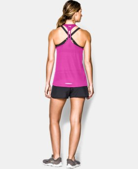 Women's UA Fly-By Stretch Mesh Tank